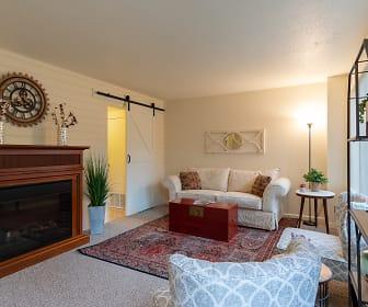 Living Room, Hathaway Farms Townhomes at Northampton