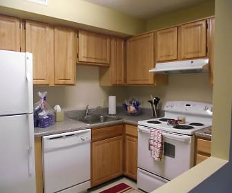 Kitchen, Southwyck Hills Apartments