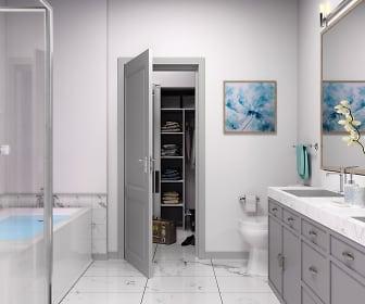 Bathroom, The Pearl at Marina Shores