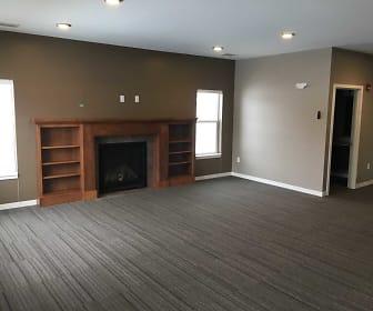 Living Room, Jamestown Court Row Homes