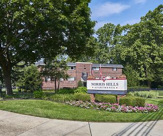 Community Signage, Norris Hills Apartments
