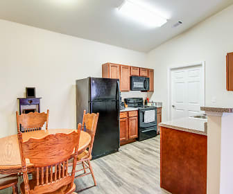 Kitchen, Buchanan Way Apartments