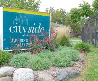 Community Signage, Cityside Townhomes