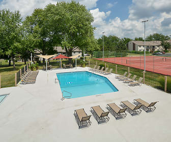 Outdoor Pool with Spacious Sundeck, Arcadia at Overland Park