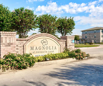 Community Signage, Magnolia at Mesquite Creek