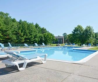 Pool, Avon Mill Apartments