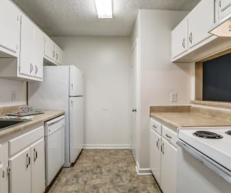 Kitchen, Fox Hill Apartments