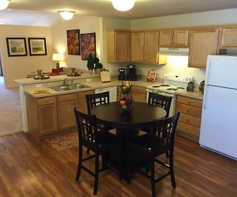 Kitchen, Redwood Brownsburg