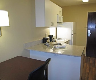 Kitchen, Furnished Studio - San Jose - Santa Clara