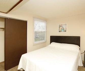 Bedroom, Windcrest Apartments
