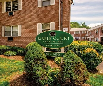 Community Signage, Maple Court Apartments