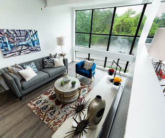 Living Room, Lofts On Hulen