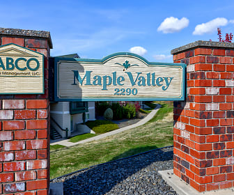Community Signage, Maple Valley