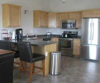 Kitchen, Woodside Townhomes