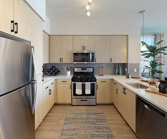 Kitchen, The Braydon Apartments