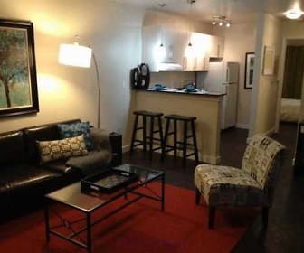 Living Room, Flats On Frankfort Apartments