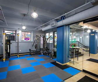 Fitness Weight Room, Lofts at 5 Lyons
