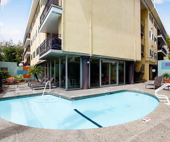 Pool, Hillsdale Square Apartments