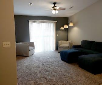 Living Room, Devon Apartments