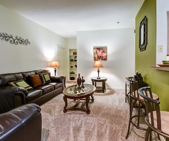 Living Room, Reata Apartments