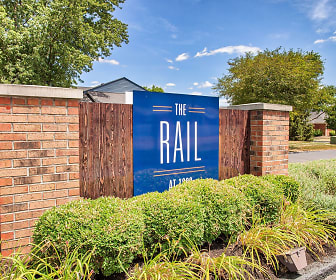 view of community sign, The Rail at 1380