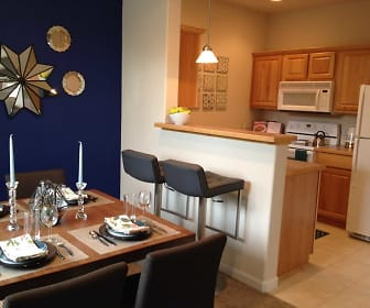 Dining Room, Grandridge Place Apartments