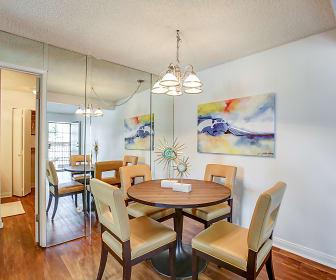 Dining Room, El Cordova Apartments