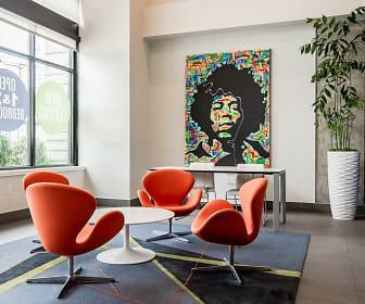 Seattle Apartments - Icon Apartments - Building Entryway, Icon Apartments