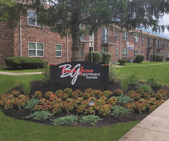 Beech Grove Apartments, Jeffersonville High School, Jeffersonville, IN