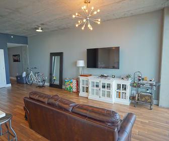 Living Room, 777 N Ashley Dr Unit 1009