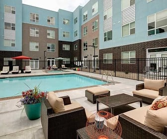 Pool, West Station Apartments