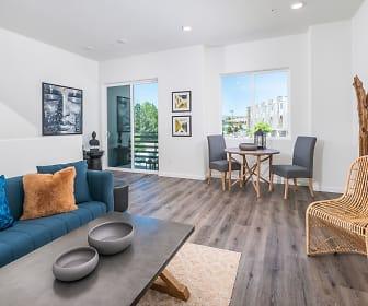 Living Room, Summit Ridge Townhomes