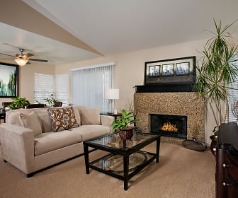 Living Room, Del Mar Apartments