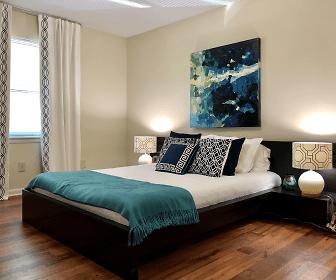 Bedroom, Northshore Village Apartments