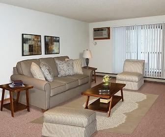 Living Room, Woodstone Apartments
