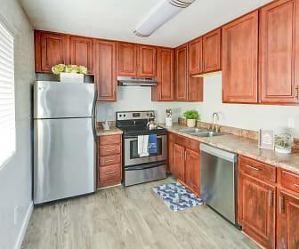 Kitchen, Montecito Apartments