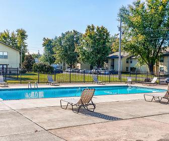 Pool, Willow Creek Apartments