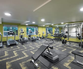 Fitness Weight Room, Milehouse