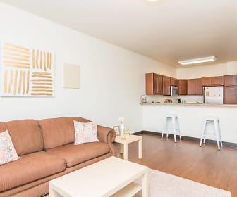 Living Room, T-Lofts Apartments