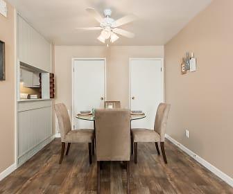 Dining Room, Century City Apartments