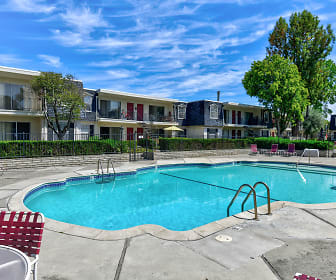 Normandy Park Apartments, Santa Clara University, CA