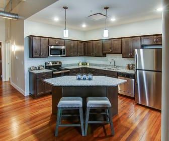 Kitchen, Rathbun Lofts