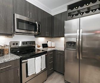 Kitchen, Cue Luxury Apartments