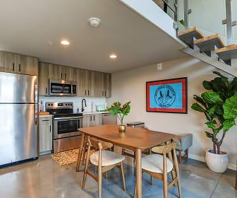 Kitchen, Avenue Lofts