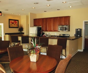 Dining Room, East Meadow Apartments