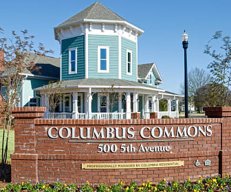Columbus Commons, Eddy Middle School, Columbus, GA