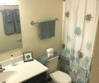 Bathroom, Indian Hills Apartments