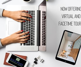 Tour our beautiful community from the comfort of your home with our virtual tours. Call us today to schedule one!, Boca Winds