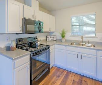 Kitchen, Auburn Flats