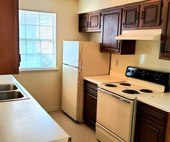 Kitchen, Normandy Village Apartments